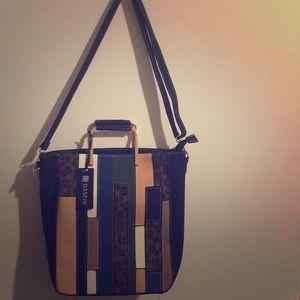 Dasein Faux leather handbag
